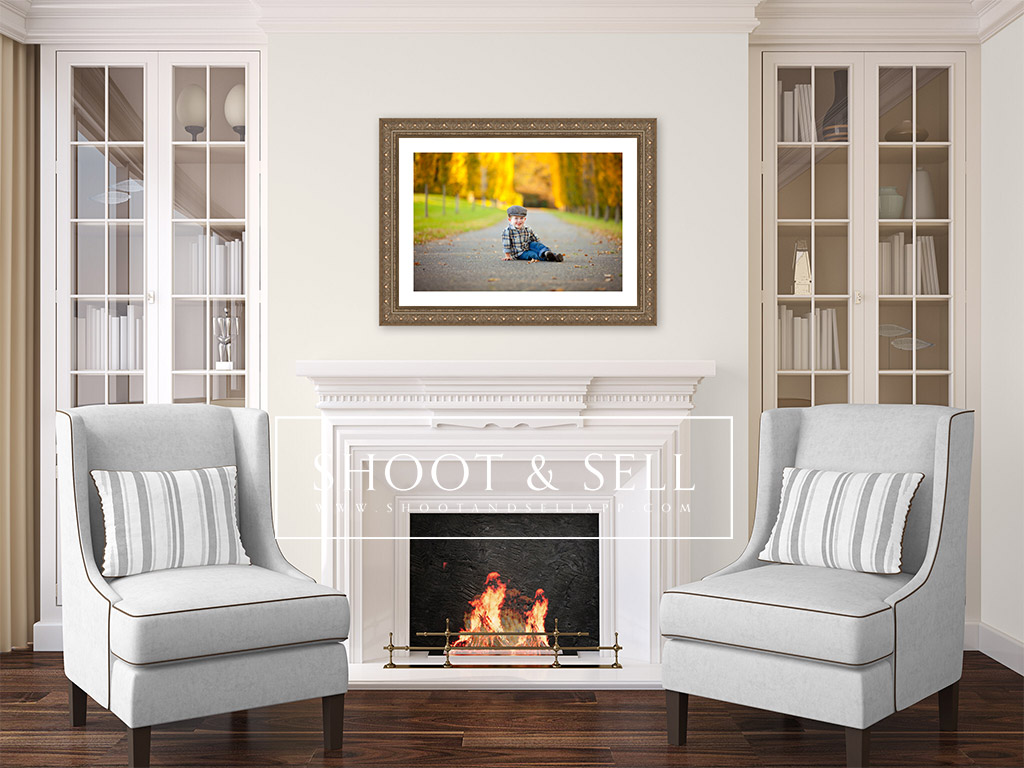 shoot and sell fireplace ii with chairs